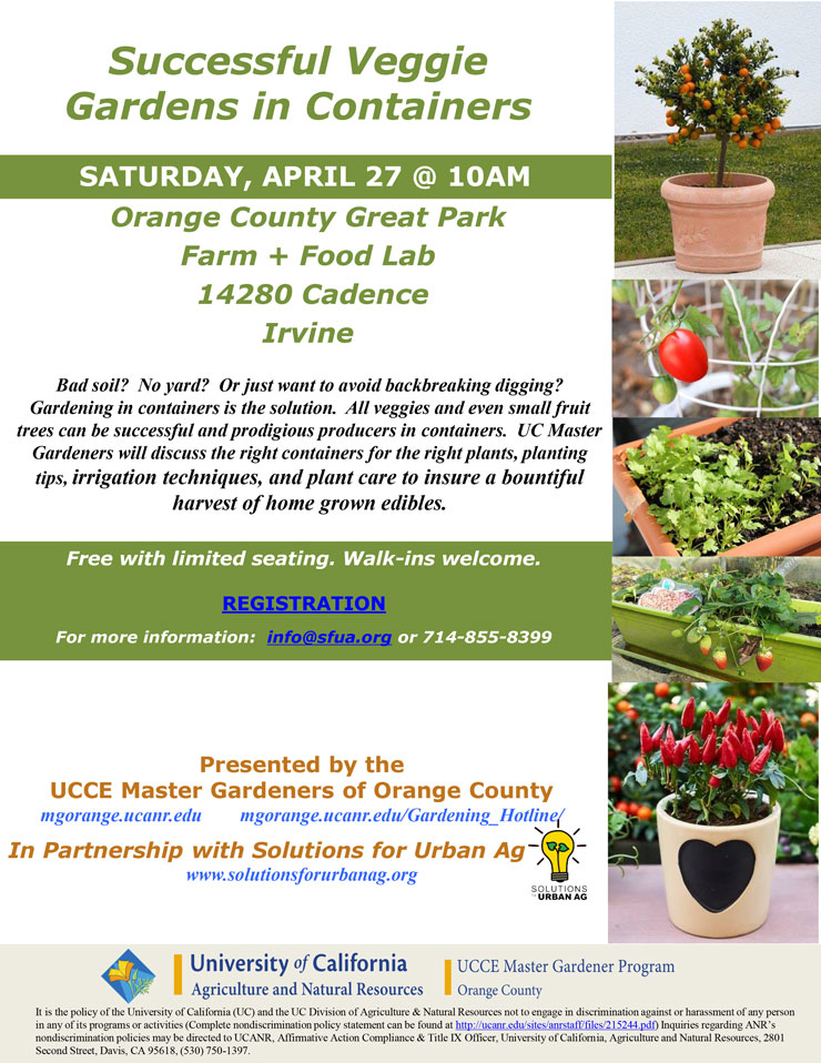 UCCE Master Gardeners Of Orange County   UC ANR